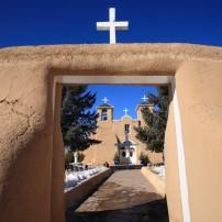 Saint Francis de Asis Mission, Ranchos de Taos, New Mexico, USA