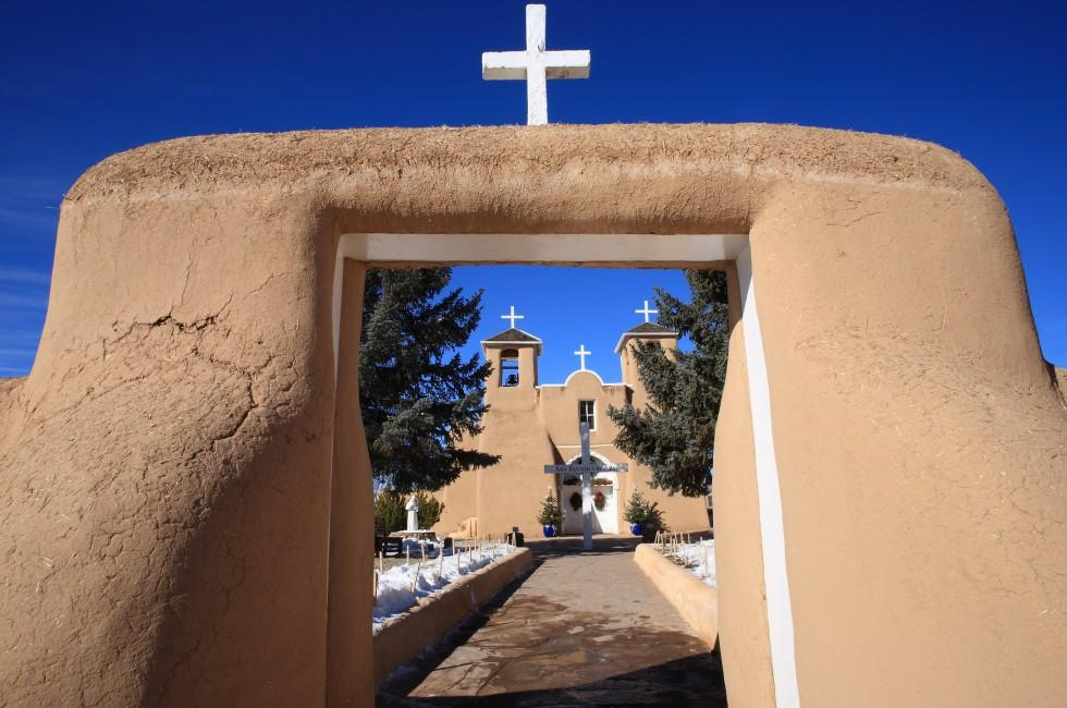 Saint Francis de Asis Mission, Ranchos de Taos, New Mexico, USA