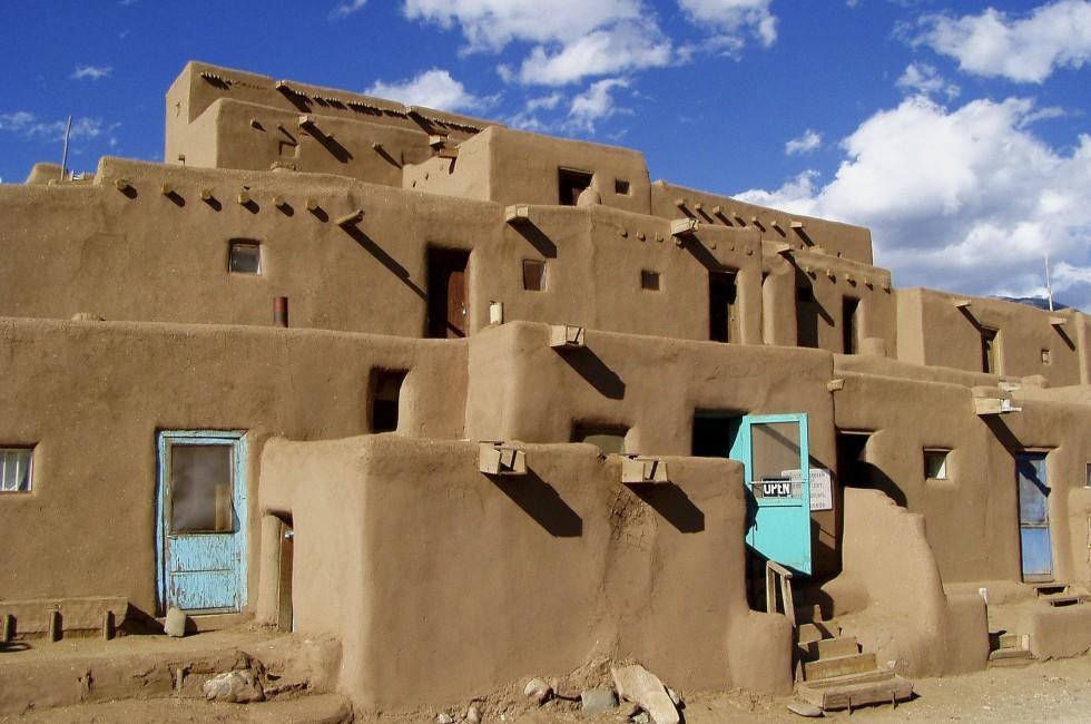Taos Pueblo, Taos, New Mexico, USA