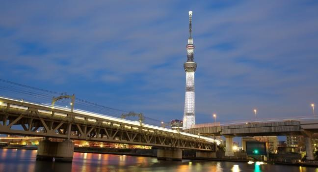Night, Tokyo Sky Tree, Tokyo, Japan