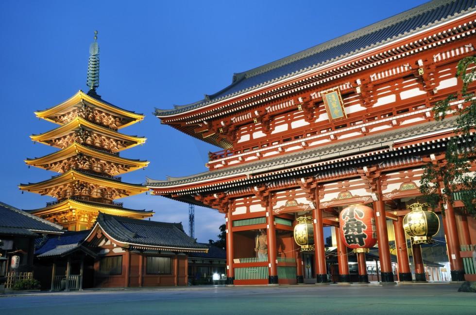 Sensoji, Asakusa, Tokyo, Japan