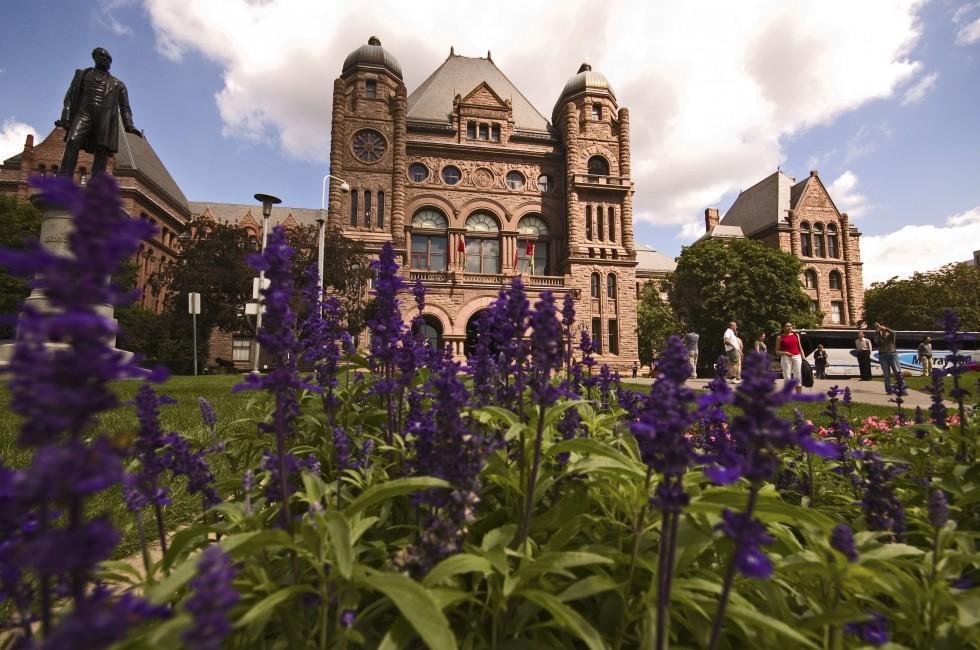 Ontario Parliament Building, Toronto, Ontario, Canada