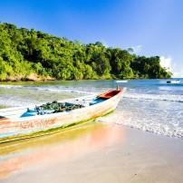 Boat, Maracas Bay, Trinidad, Caribbean