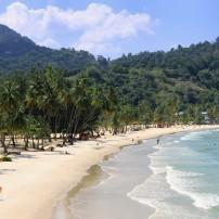Maracas Beach, Swimmers, Trinidad, Caribbean