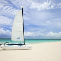 Boat, Beach, Turks & Caicos, Caribbean