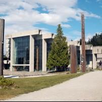 Exterior, The Museum of Anthropology, Vancouver, Canada