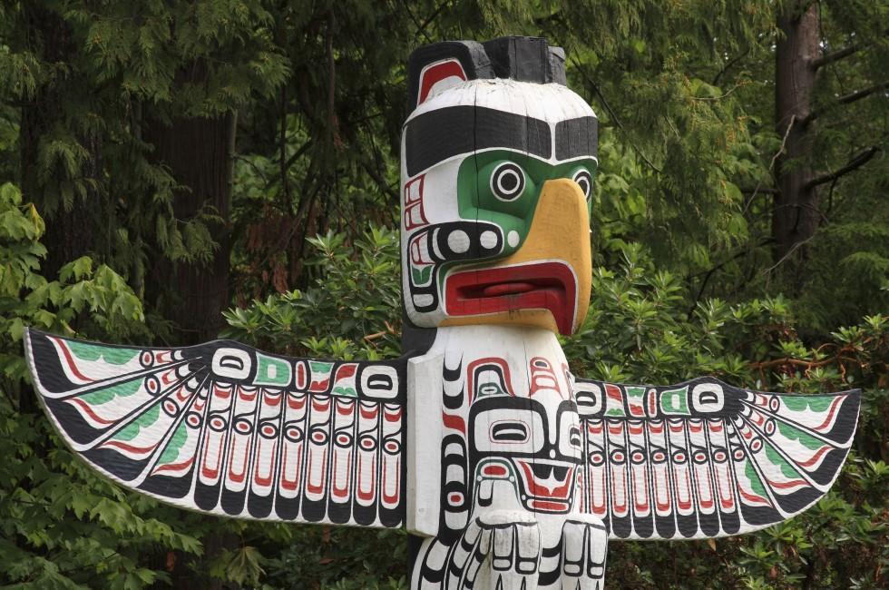 Totem Pole, Vancouver, British Columbia, Canada