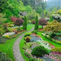 Butchart Gardens, Victoria, British Columbia, Canada
