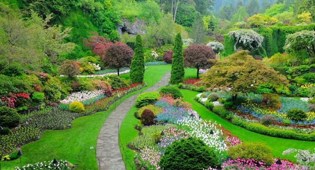 Butchart Gardens Review Victoria British Columbia Sights