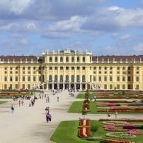 Entrance, Schoenbrunn gardens, Vienna