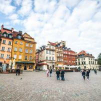 Castle Square, Plac Zamkowy, Warsaw, Poland