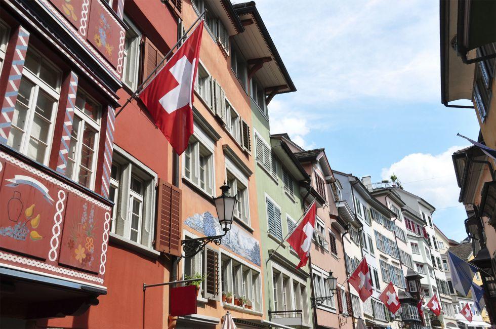Street, Zurich, Switzerland