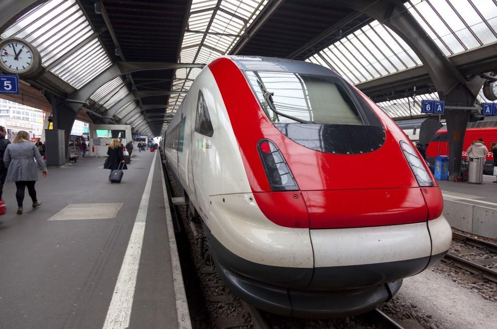 Zurich Hauptbahnhof, Zurich, Switzerland