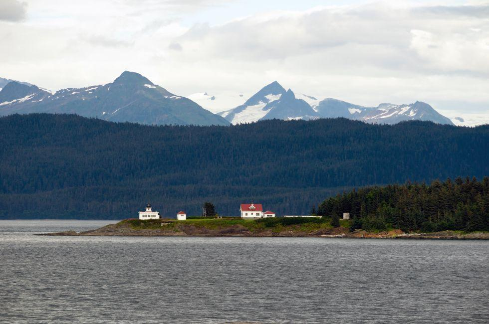 Point Retreat Light House; Admiralty Island; Alaska
