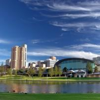River Torrens, Waterfront, Adelaide, South Australia, Australia