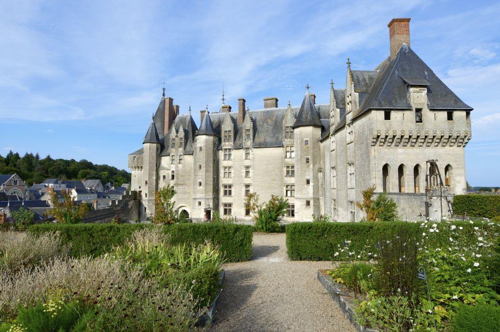 Village, Exterior, Castle of Langeais, Langeais, The Loire Valley, France