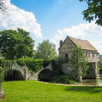 Bridge, River Seine, Old MIll, Haute-Normandie, Vernon,