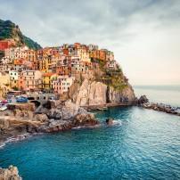 Manarola, La Spezia, Liguria, The Italian Riviera, Italy