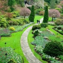 Butchart Garden, Victoria, British Columbia, Canada