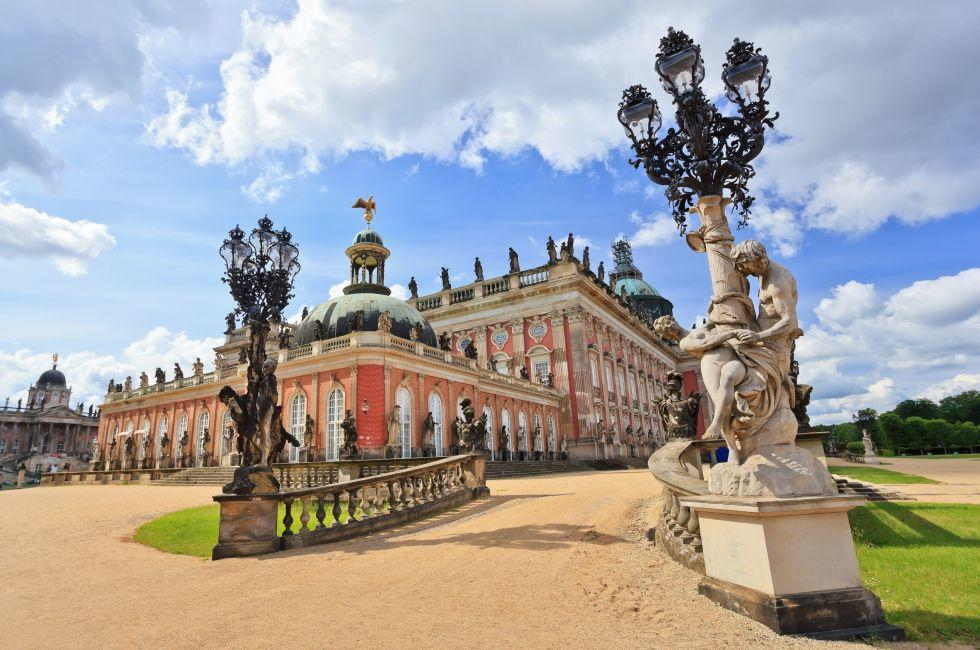 New Palace, Sanssouci Park, Potsdam, Berlin, Germany, Europe.