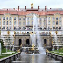 Grand Peterhof Palace, Pushkin, St. Petersburg, Russia
