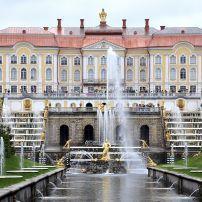 Grand Peterhof Palace, Pushkin, St. Petersburg, Russia