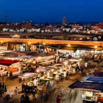 Night Market, Public Square, Marrakech, Morocco