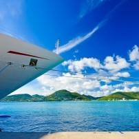 Cruise Ship, Saint Maarten, Caribbean