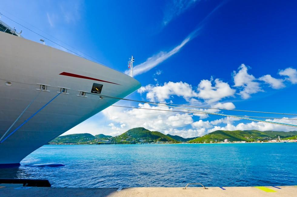 Cruise Ship, Saint Maarten, Caribbean
