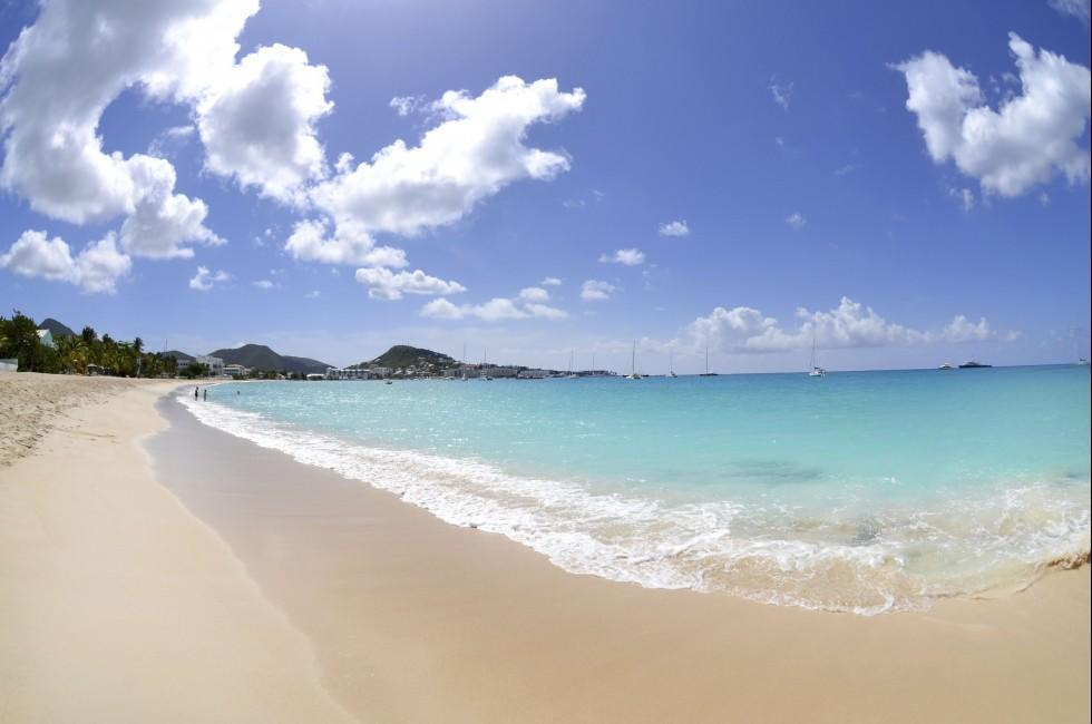 St Martin Hotels On Beach