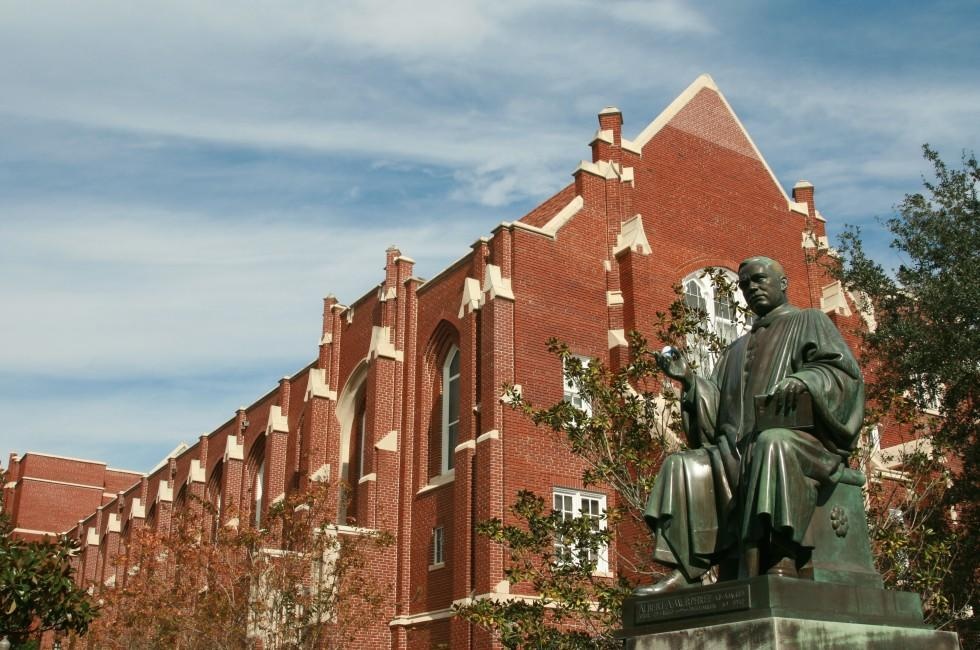 University, Statue, Albert Murphee, Gainesville, Forida, USA
