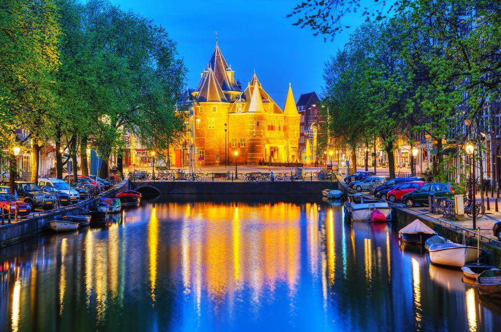 The Waag, Nieuwmarkt, Amsterdam, Netherlands