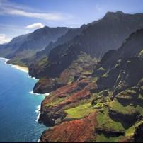 Na Pali Coastline, North Shore Kauai, Kauai, Hawaii, USA