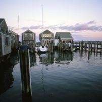 Harbor, Nantucket, Massachusetts, USA
