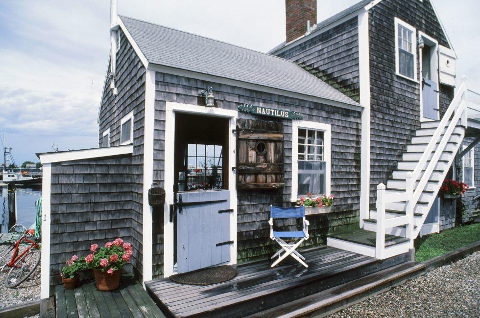 House, Harbor, Nantucket, Massachusetts, USA