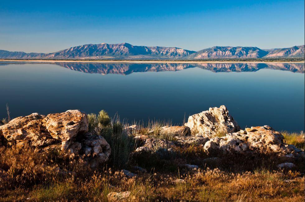 Salt Lake, Antelope Island, Utah