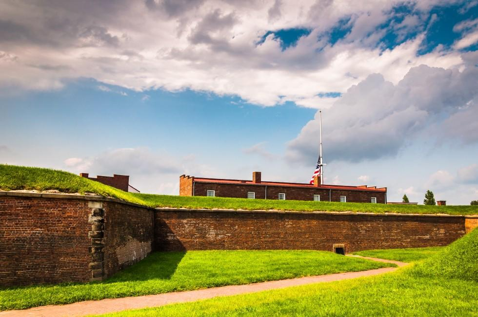 Fort McHenry, Baltimore, Maryland, USA