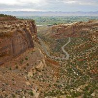 Road, Colorado National Monument, Grand Junction, Steamboat Springs and Northwest Colorado, Colorado, USA