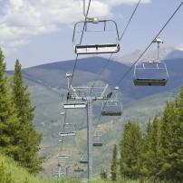 Chairlift, Vail Valley, Colorado, USA