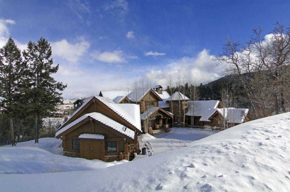 House, Vail Valley, Colorado, USA