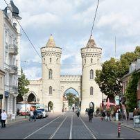 Nauener Tor, City Center, Potsdam, Berlin, Germany, Europe.