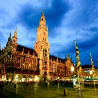 Marienplatz, Munich, Germany, Europe.