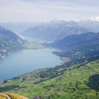 Lake Thun, Interlaken, Berner Oberland, Switzerland