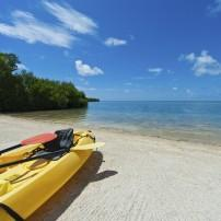 Kayak, Beach, The Florida Keys, Florida, USA
