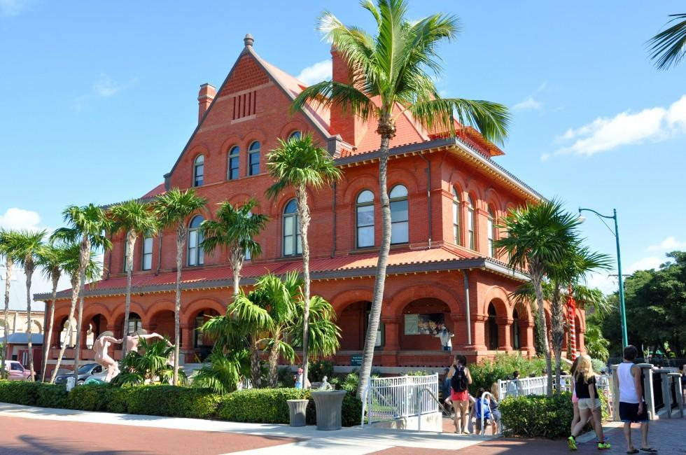 Key West Museum of Art and History, Custom House, The Florida Keys, Florida, USA