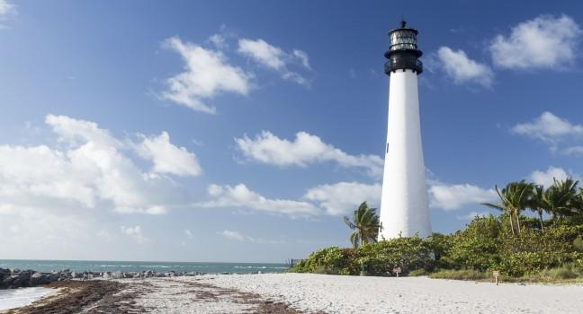 Lighthouse, Bill Baggs Cape Florida State Park, The Florida Keys, Florida, USA