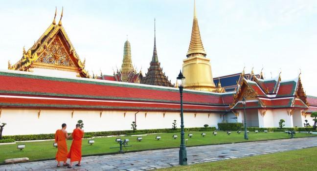 Loyal Temple, Wat Phra Kaew, Bangkok, Thailand
