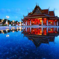 Temple, Bangkok, Thailand, Asia.