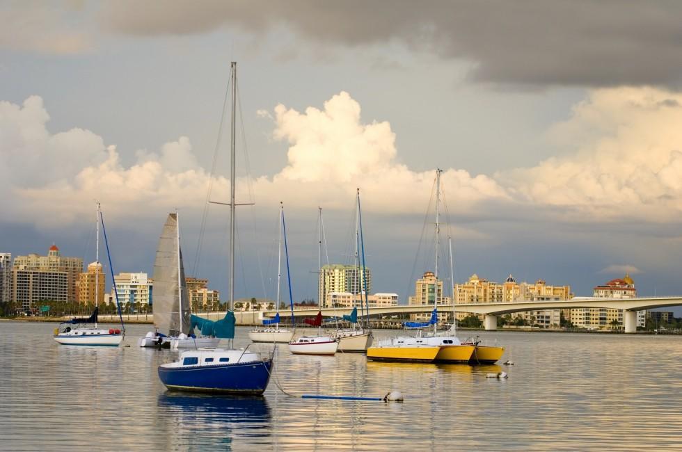 Boats, Harbor, The Tampa Bay Area, Florida, USA