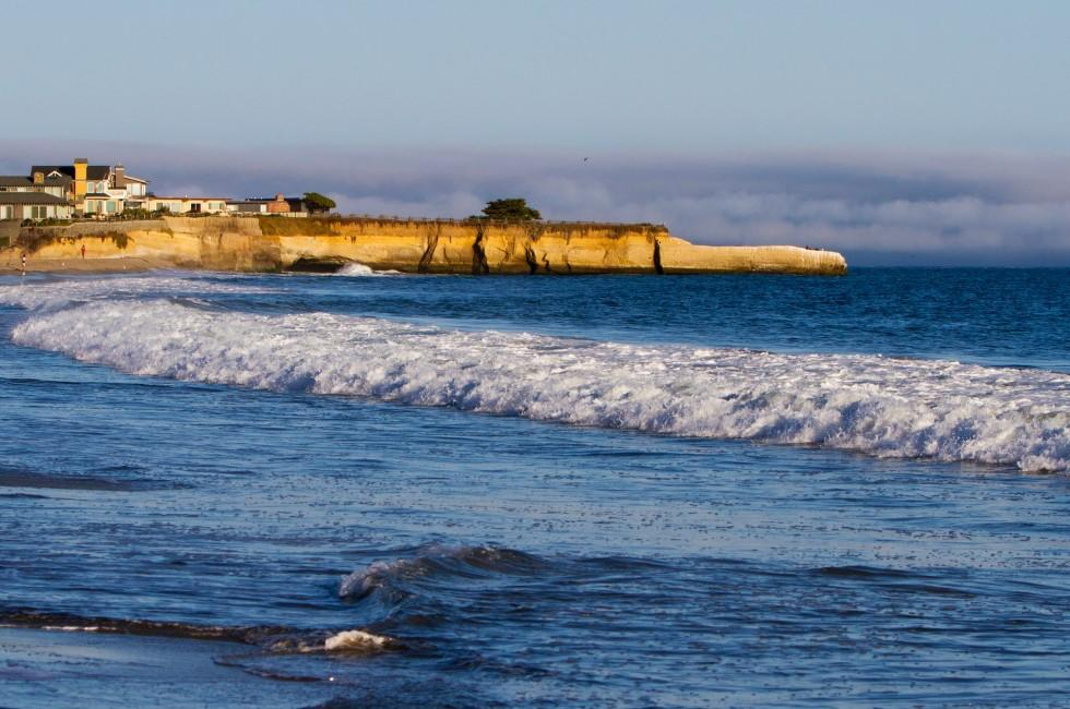 Mansion, Cliff, Santa Cruz, Monterey Bay, California, USA
